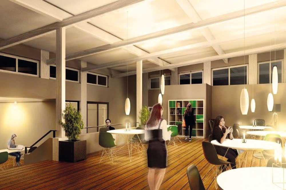 THK Rissen Visualisierung neues Clubhaus Tennis Hockey Sport Verein West