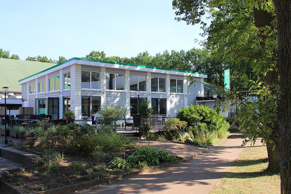 THK Rissen Neubau der Gastronomie 2017 Hamburg West