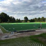 Bauarbeiten Neubau Hockey Kunstrasen THK Rissen Sport Verein West