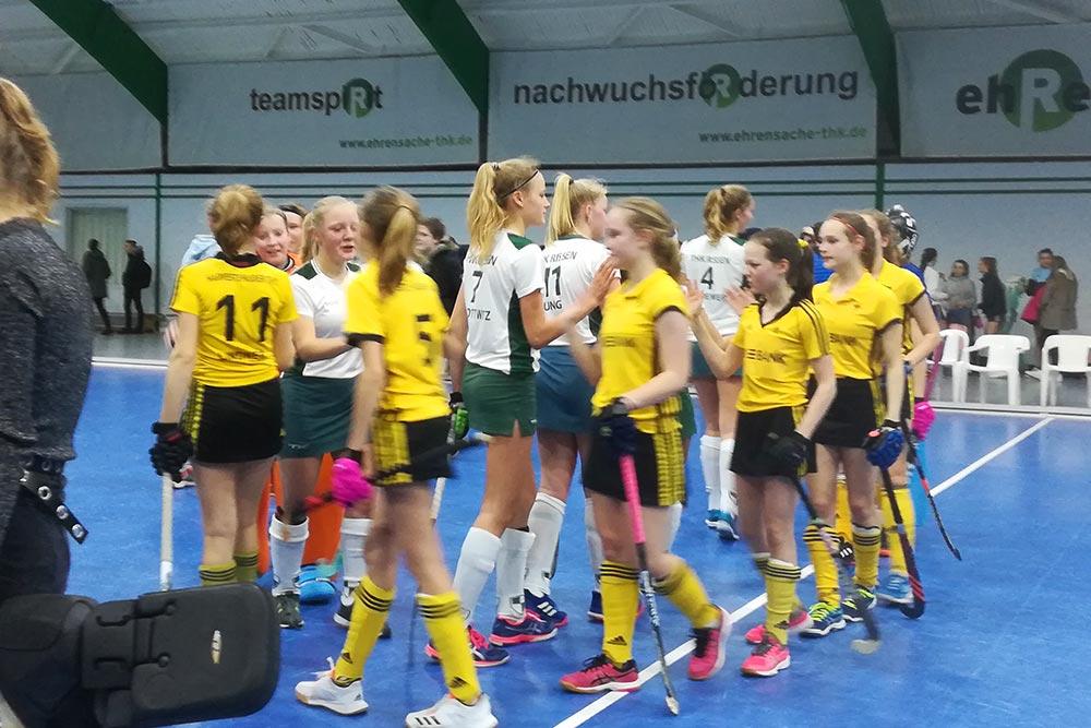 Die THK Mädchen A sind Oberligameister